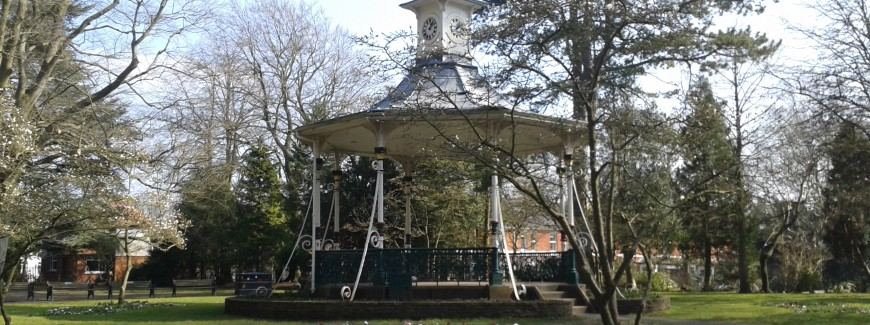 Bandstand in Old Town